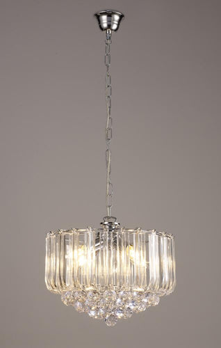 Light Slate Gray Deco D0419 Lana Pendant With Acrylic Spheres, 3 Light E14 Polished Chrome Finish deco-d0419-lana-pendant-with-acrylic-spheres-3-light-e14-polished-chrome-finish
