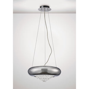 Lavender Diyas IL31563 Phyllis Large Pendant 3 Light G9 Polished Chrome/Crystal diyas-il31563-phyllis-large-pendant-3-light-g9-polished-chrome-crystal Phyllis