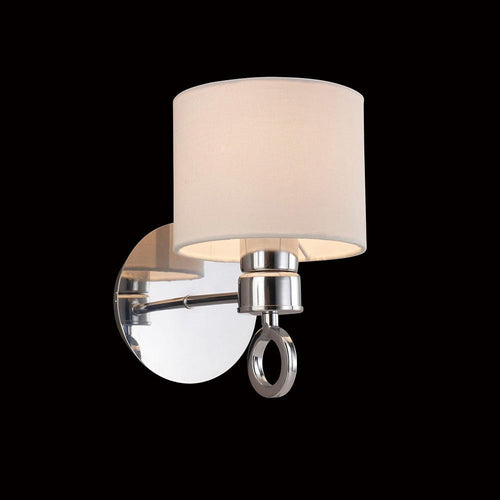Wheat Diyas IL30051  Polo Wall Lamp Switched With White Shade 1 Light Polished Chrome diyas-il30051-polo-wall-lamp-lamp-switched-with-white-shade-1-light-polished-chrome Polo