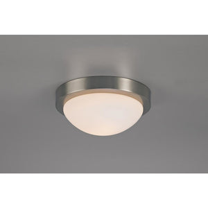 Antique White Deco D0396 Porter IP44 1 Light E27 Medium Flush Ceiling Light, Satin Nickel With Opal White Glass deco-d0396-porter-ip44-1-light-e27-medium-flush-ceiling-light-satin-nickel-with-opal-white-glass