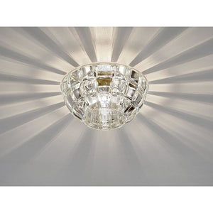 Gray Diyas IL31840CH Ria G9 Dome Downlight Polished Chrome/Crystal