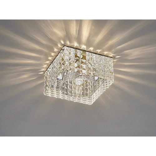 Rosy Brown Diyas IL31842CH Ria G9 Cube Pattern Square Downlight Polished Chrome/Crystal diyas-il31842ch-ria-g9-cube-pattern-square-downlight-polished-chrome-crystal Ria