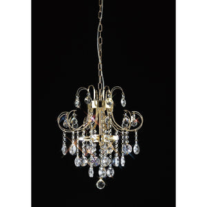 Black Diyas IL32054 Rosina Pendant 5 Light French Gold/Crystal diyas-il32054-rosina-pendant-5-light-french-gold-crystal Rosina