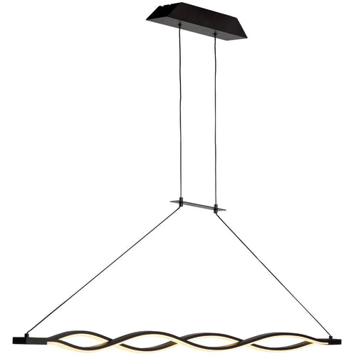 White Mantra M5817 Sahara Pendant 36W LED 2800K, 2520lm, Dimmable Frosted Acrylic/Brown Oxide, 3yrs Warranty mantra-m5817-sahara-pendant-36w-led-2800k-2520lm-dimmable-frosted-acrylic-brown-oxide-3yrs-warranty