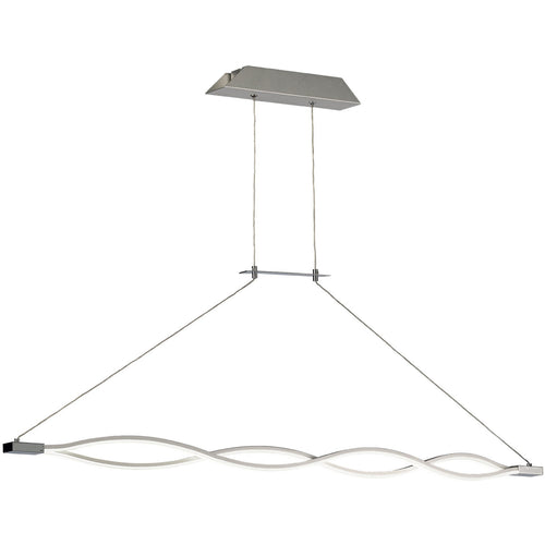 White Smoke Mantra M5815 Sahara XL Pendant 42W LED 3000K, 3400lm, Dimmable Silver/Frosted Acrylic/Polished Chrome, 3yrs Warranty mantra-m5815-sahara-xl-pendant-42w-led-3000k-3400lm-dimmable-silver-frosted-acrylic-polished-chrome-3yrs-warranty
