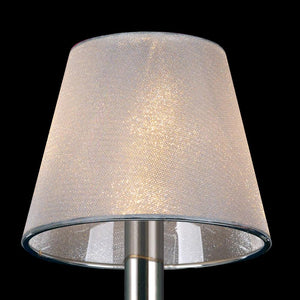 Gray Diyas IL30101 Clip-On Shade Clear Crystal Effect Vinyl