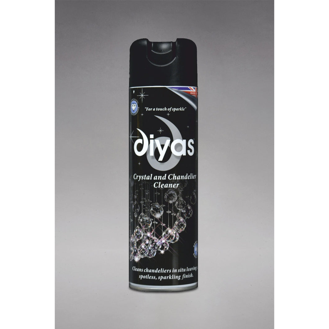 Dark Gray Diyas IL90100 Chandelier Cleaner Spray, 500ml Aerosol Can, Made In The UK diyas-il90100-chandelier-cleaner-spray-500ml-aerosol-can-made-in-the-uk Chandelier Cleaner