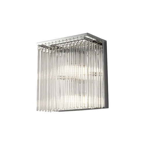 Gray Diyas IL30011/G9 Zanthe Wall Lamp 3 Light Polished Chrome/Clear Glass diyas-il30011-g9-zanthe-wall-lamp-lamp-3-light-polished-chrome-clear-glass Zanthe