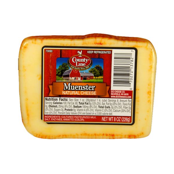 Muenster Cheese, 8oz