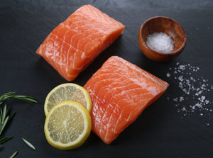 Canadian Salmon, Two 6oz Portions