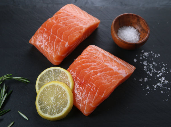 Canadian Salmon, Two Portions