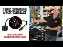 Load and play video in Gallery viewer, AEM X-Series OBDII Wideband AFR Controller Gauge