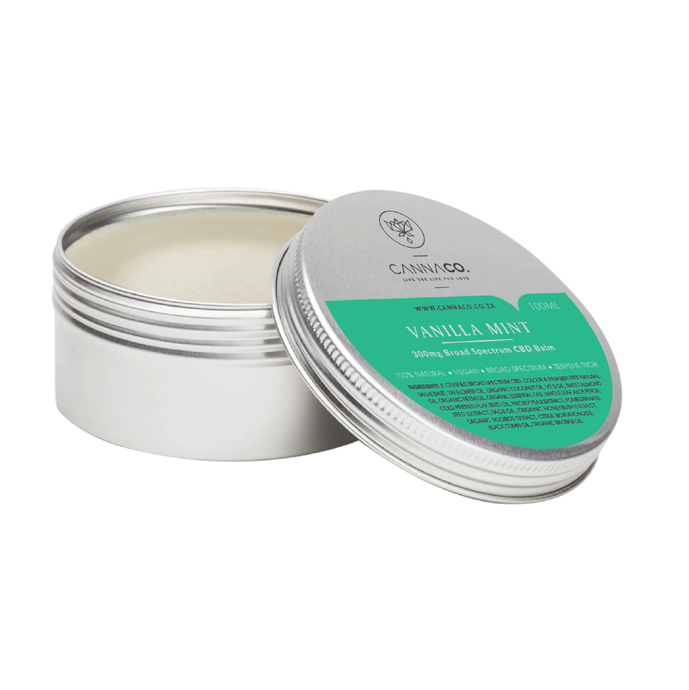 CBD Cannaco Broad Spectrum Balm for pain Relief
