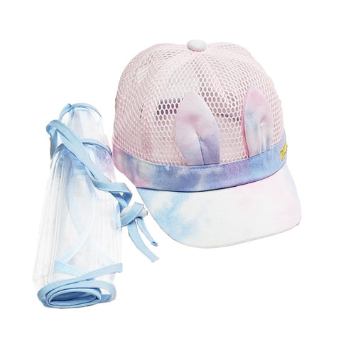 Children baseball hat with removable splash guard - Bay to Bay Medical