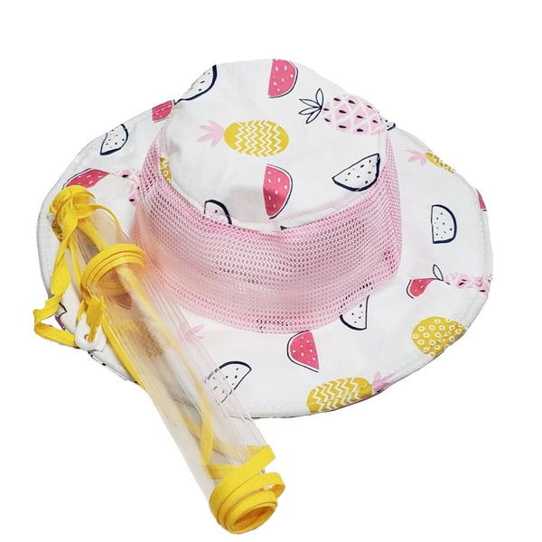 Children fisher hat with removable splash guard - Bay to Bay Medical