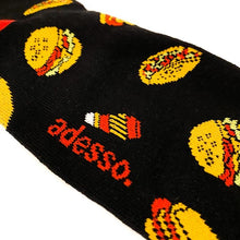 Load image into Gallery viewer, Fast Food Socks Socks Adesso Man