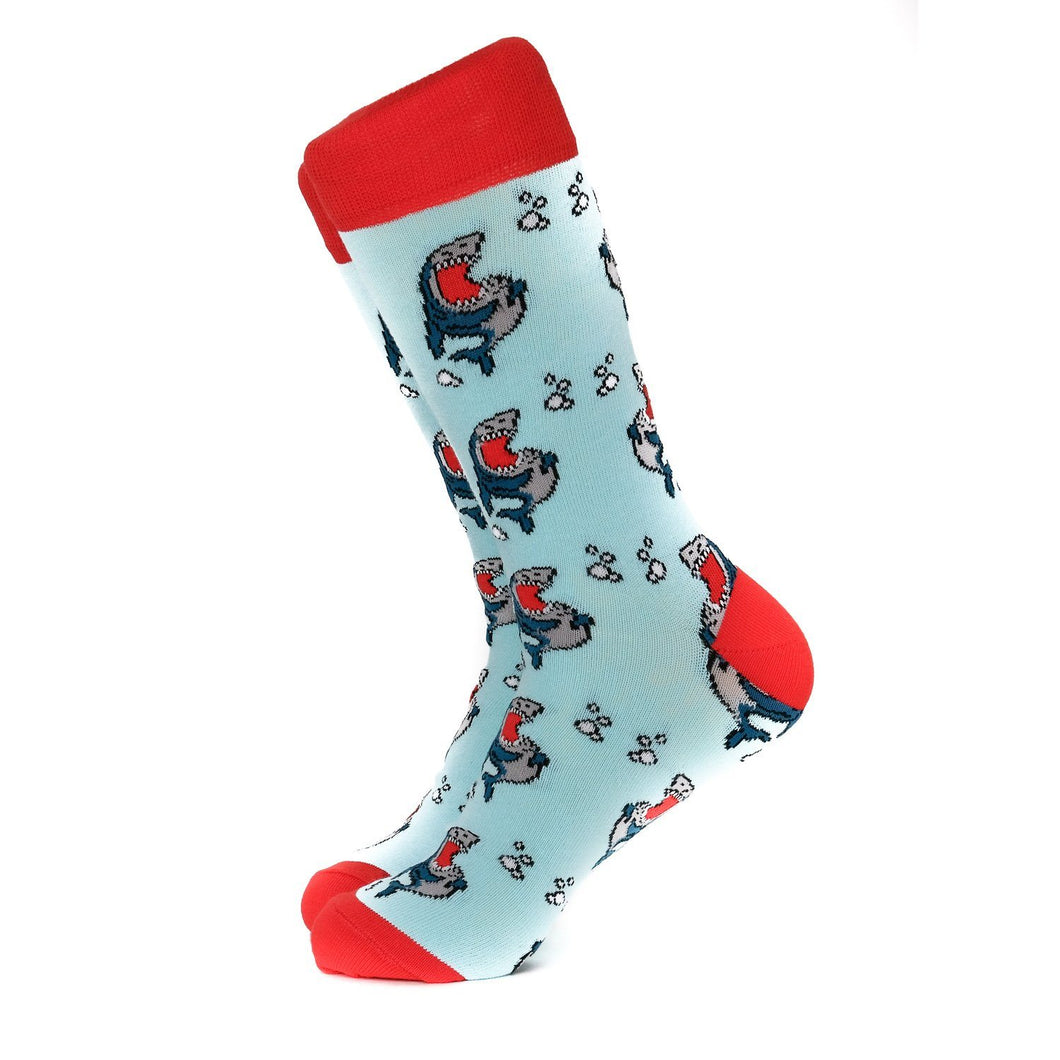Laughing Sharks Socks Socks Adesso Man
