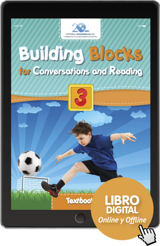 Building Blocks for Conversations and Reading 3 (versión digital)