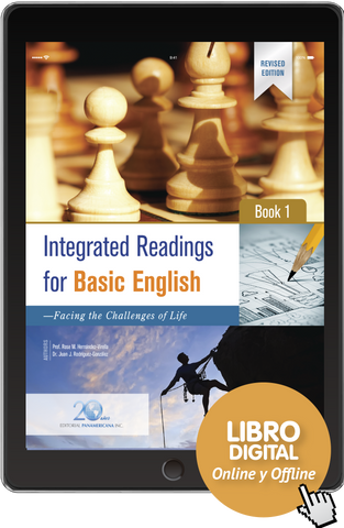 Integrated Readings for Basic English - Book 1 (versión digital)