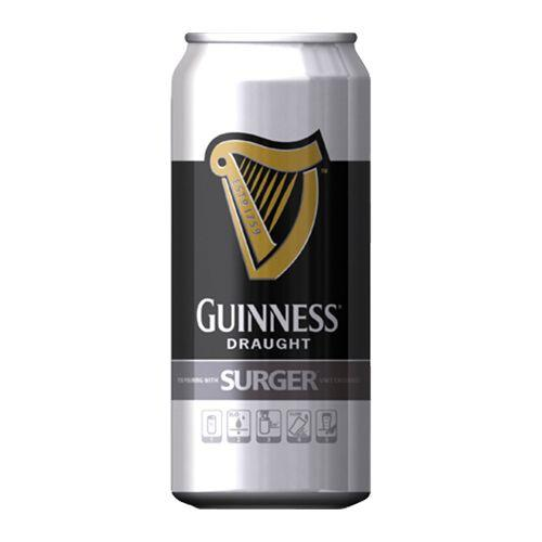 Guinness Surger Can 24 X 520ml Case, Beer by The Drink Market