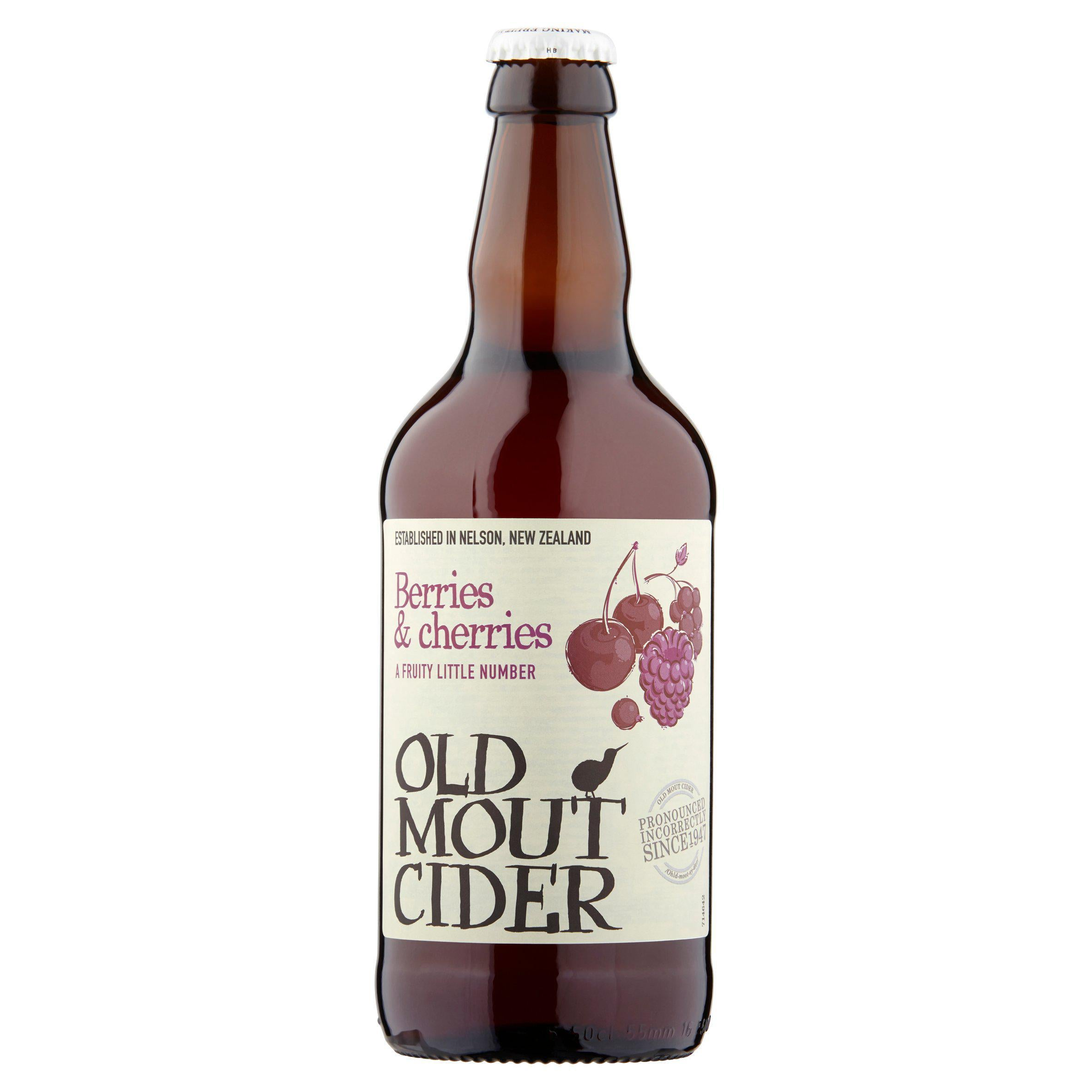 Old Mout Berries & Cherries 500ml, Beer by The Drink Market