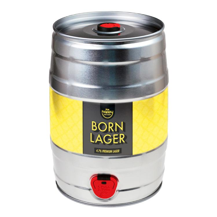 Born Lager 5L Mini Keg by  The Drink Market