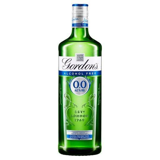 Gordon's 0.0% Dry Gin Alcohol Free 70cl by  The Drink Market