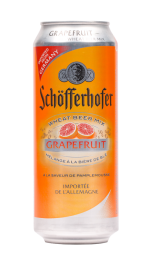 Schofferhofer Grapefruit Beer 500ml Can x 24 Case, Beer by The Drink Market