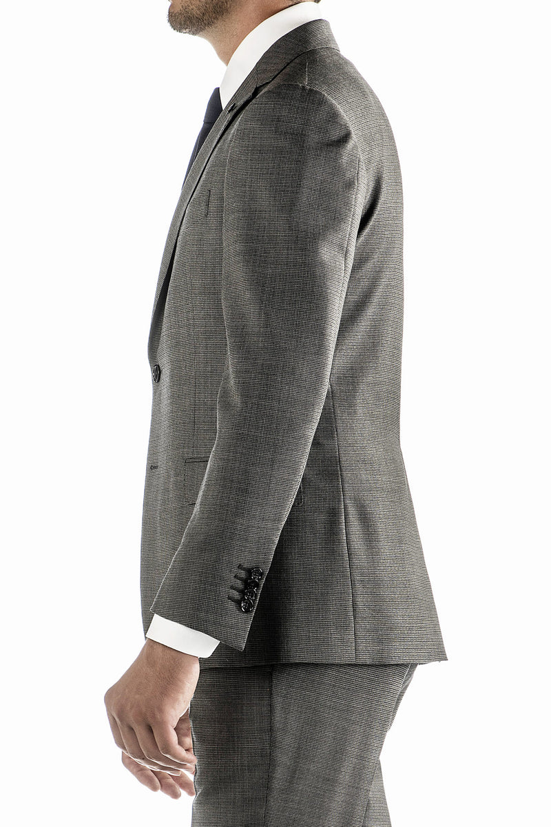 Patterned Wool Suit