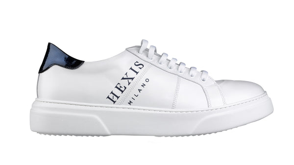Sneakers Hexis in pelle Bianca