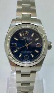 Ladies Stainless Steel Rolex Oyster Perpetual C2008