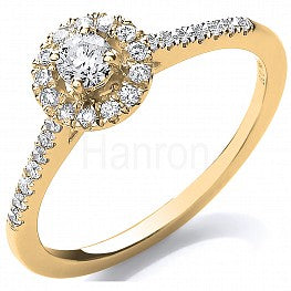 18ct Yellow Gold 0.37ct Fancy Ring