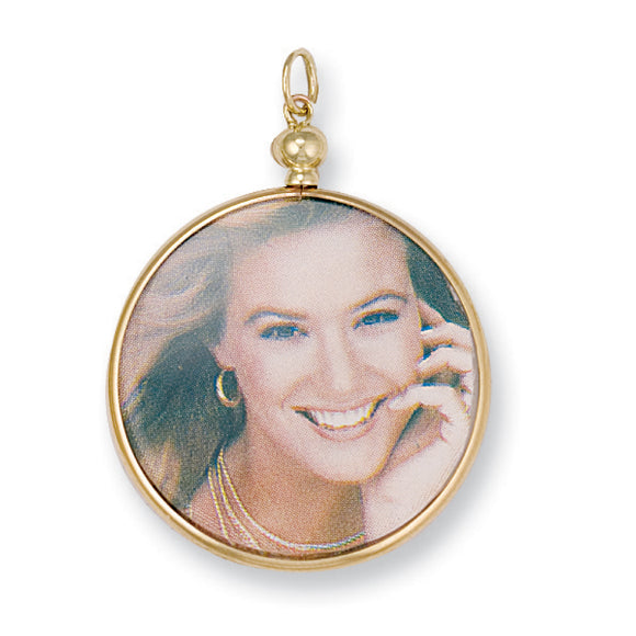 9ct Yellow Gold Medium Picture Frame Pendant