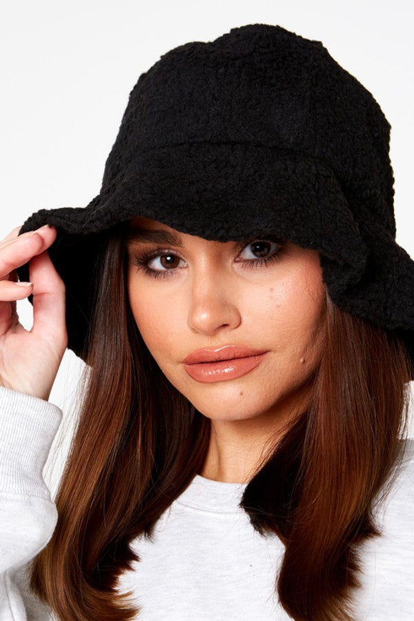 Black Teddy Bucket Hat