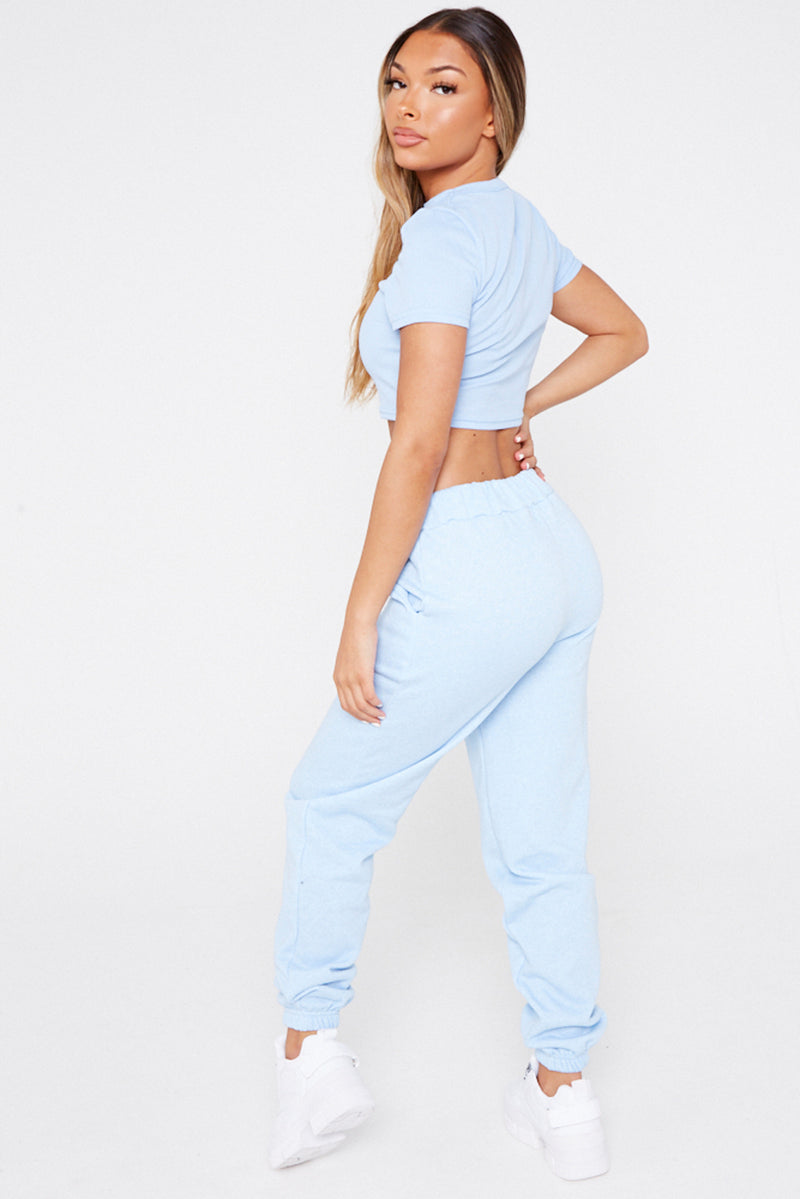Baby Blue Joggers
