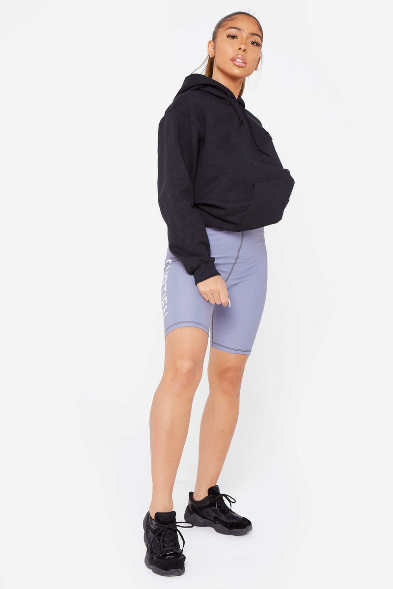 "Grey ""CURTIEN"" Cycling Shorts"