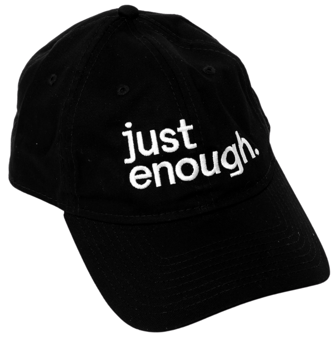 just enough. Hat - Just Enough Wines