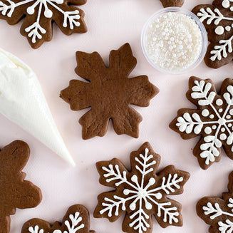 Gingerbread Snowflake Cookie Kit