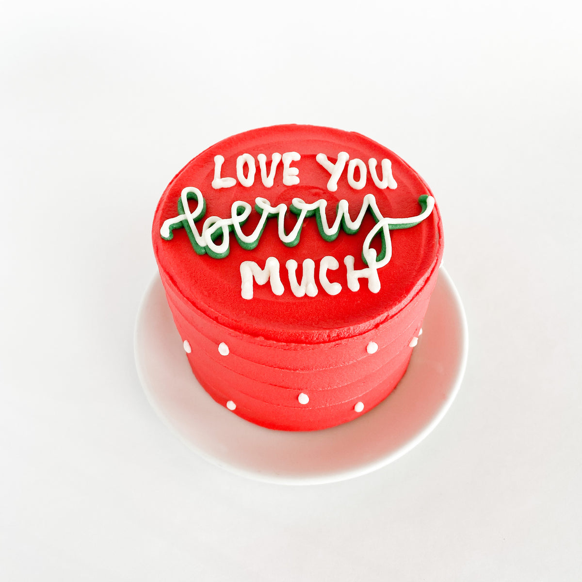 Love You Berry Much Cake