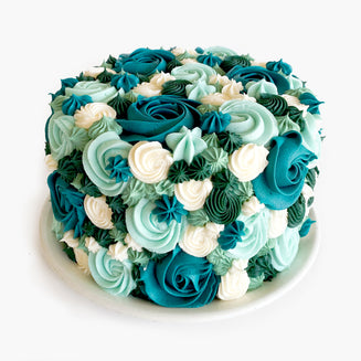Winter Bouquet Cake