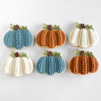 Pumpkin Sweater Sugar Cookies