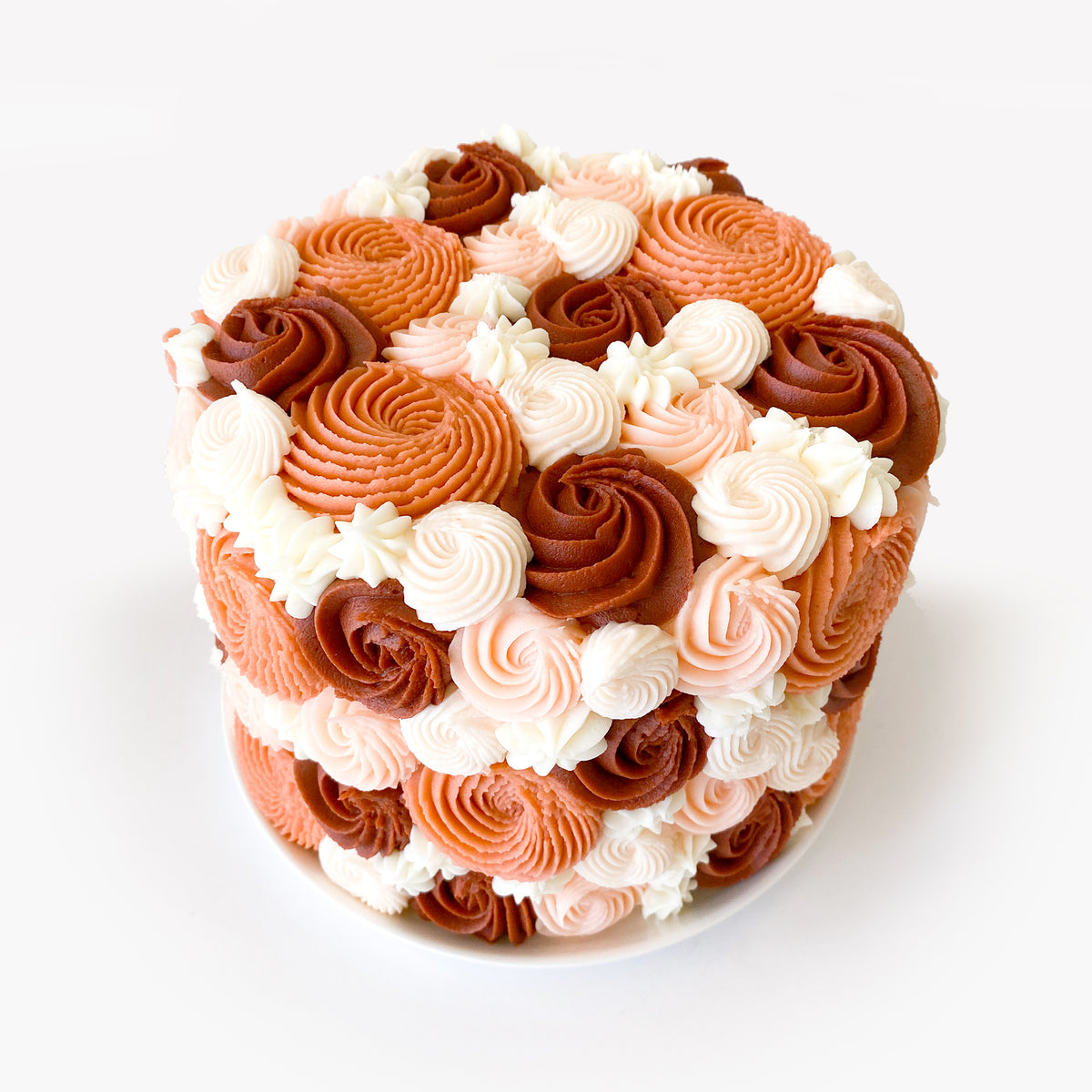 Winter Red Bouquet Cake