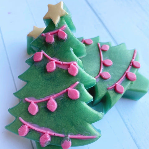 Artisan Christmas Tree Soaps