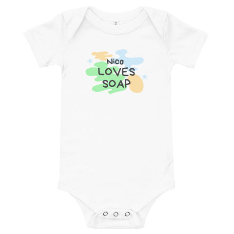 Nico Soap Shop Baby Onesie