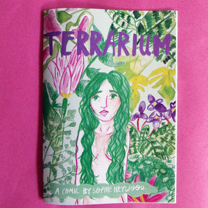 Terrarium Illustrated A5 Comic