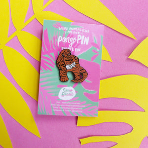 PangoPIN Weird Animal Club Enamel Pin