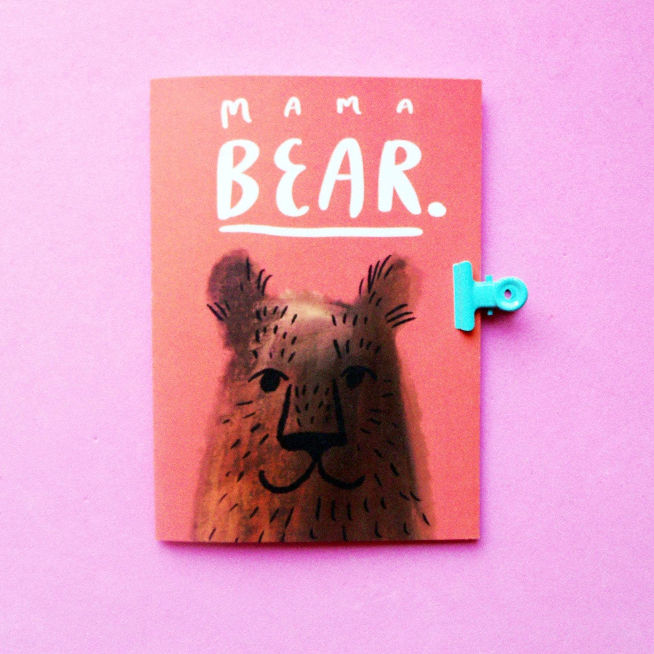 Mama Bear A6 Greetings Card