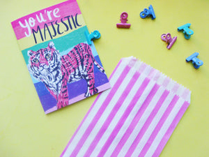You're Majestic Tiger A6 Recycled Greeting Card