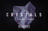 3d Crystals Shapes