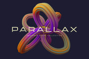 Parallax Abstract 3D Shapes